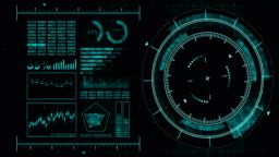 Futuristic game target. Aiming and military. Aim of sniper weapon. Neon digital display. Future radar screen. Technology concept. Camera recording viewfinder. Game control interface element.