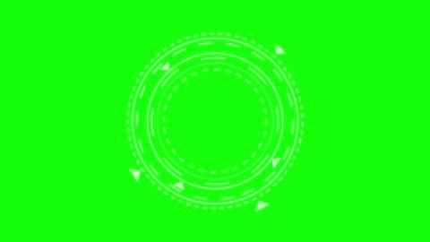 vídeos y material grabado en eventos de stock de objetivo de juego futurista. apuntando y militar. objetivo del arma de francotirador. concepto tecnológico. visor de grabación de cámara. elemento de interfaz de control de juego. llave de croma. - imagen generada digitalmente
