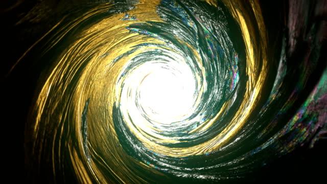 futuristic, glass, shiny vortex. blurred motion - alien stock videos & royalty-free footage