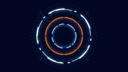 Futuristic HUD conceptual animation