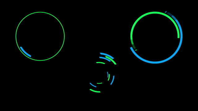 Futuristic HUD Motion Graphics