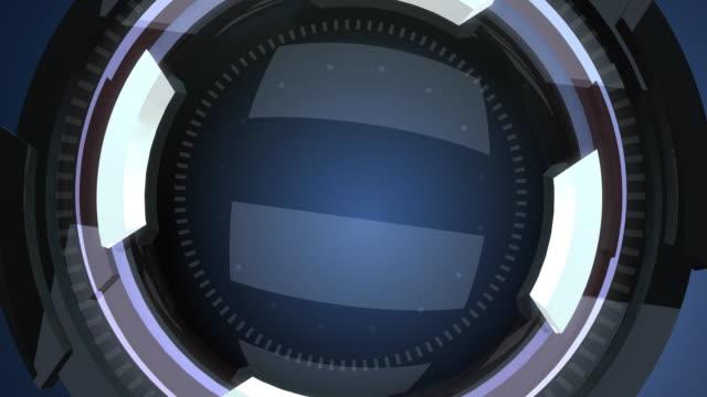 Futuristic lens intro