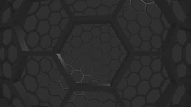 futuristic nanographene molecular structure - lead stock videos and b-roll footage