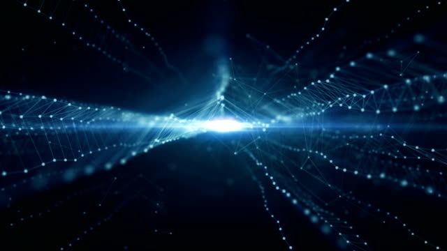 Futuristic network Background. HD1080 Motion Graphics