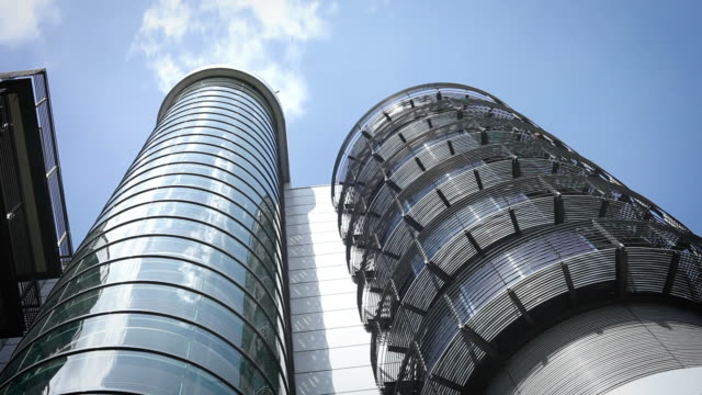 Futuristic office building