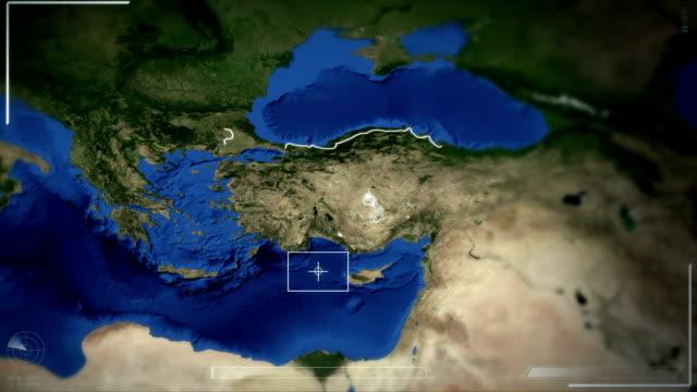 futuristic satellite image view of ankara - ankara stock videos and b-roll footage