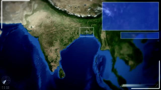 Futuristic Satellite Image View Of New delhi