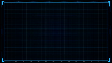 futuristic sci fi hud grid background - window display stock videos & royalty-free footage