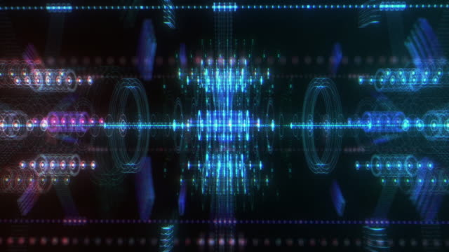 futuristic tech background - visual effect stock videos & royalty-free footage