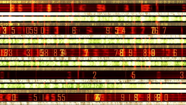 futuristic technology numerical data ticker - trading screen stock videos & royalty-free footage
