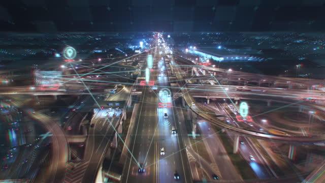 stockvideo's en b-roll-footage met futuristische transporttechnologie - intelligence