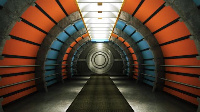 Futuristic Tunnel HD1080p