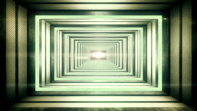futuristic tunnel - diminishing perspective stock videos & royalty-free footage