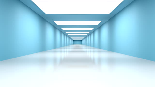 futuristic tunnel (loopable) - surrounding wall stock videos & royalty-free footage