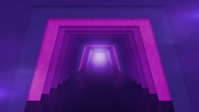 futuristic tunnel with lights background - building entrance stock videos & royalty-free footage