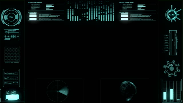 futuristic user interface hud - military target stock videos & royalty-free footage