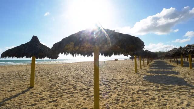 vídeos de stock e filmes b-roll de futuro's beach in fortaleza brazil - cultura sul americana