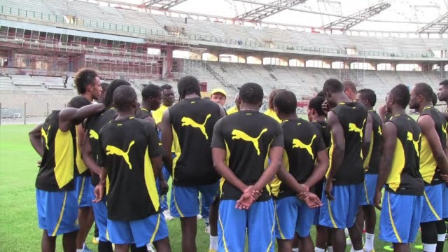gabon has never advanced beyond the quarter finals in an africa cup of nations libreville gabon - quarterfinal round stock videos & royalty-free footage