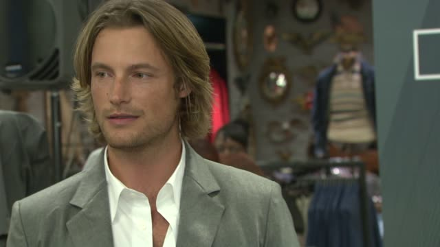 Gabriel Aubry at the Macy's Celebrates 'The World of Calvin Klein' with Gabriel Aubry at Macy's Herald Square in New York New York on September 24...