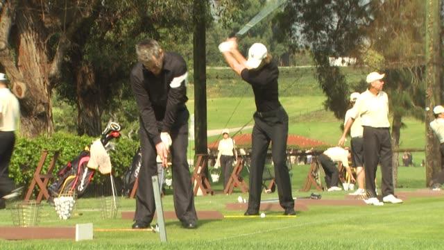 vídeos y material grabado en eventos de stock de gabriel aubry at the maybach golf cup 2009 at pacific palisades ca - gabriel aubry