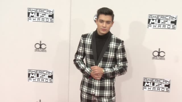 gabriel conte at 2016 american music awards at microsoft theater on november 20 2016 in los angeles california - 2016 american music awards stock videos and b-roll footage