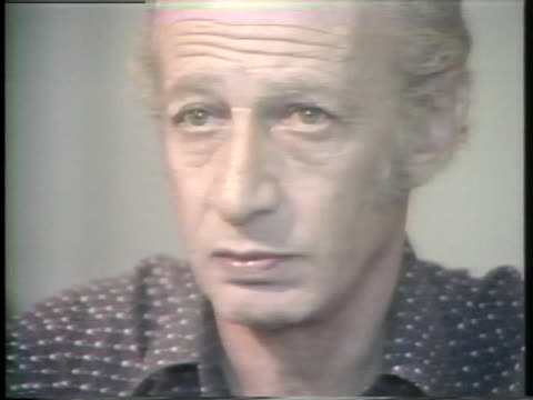 gabriel dagan describes his experiences in a nazi concentration camp. - nazism stock videos & royalty-free footage