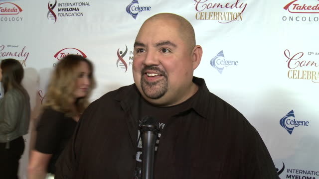 interview gabriel iglesias at the wilshire ebell theatre on november 03 2018 in los angeles california - wilshire ebell theatre stock videos & royalty-free footage