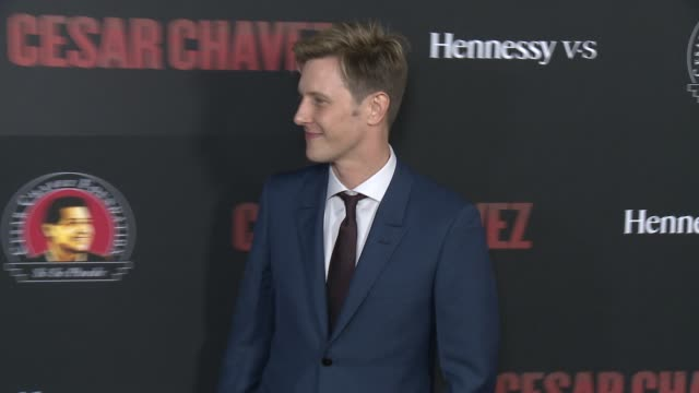 """gabriel mann - """"cesar chavez"""" los angeles premiere at tcl chinese theatre on march 20, 2014 in hollywood, california. - tcl chinese theatre stock videos & royalty-free footage"""