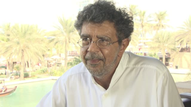 interview gabriel yared on what it means to receive the lifetime achievement from diff why this festival is so important for arab cinema and talks... - 2日目点の映像素材/bロール
