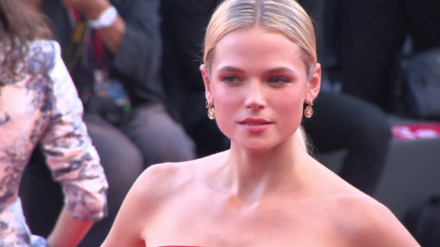Gabriella Wilde at First Man Red Carpet Arrivals Opening Ceremony And Lifetime Achievement Award To Vanessa Redgrave 75th Venice Film Festival on...