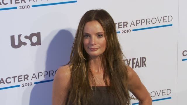 Gabrielle Anwar at the 2nd Annual Character Approved Awards Cocktail Reception at New York NY