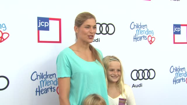 gabrielle reece at 1st annual children mending hearts style sunday on 6/92/13 in los angeles ca - gabrielle reece stock videos and b-roll footage