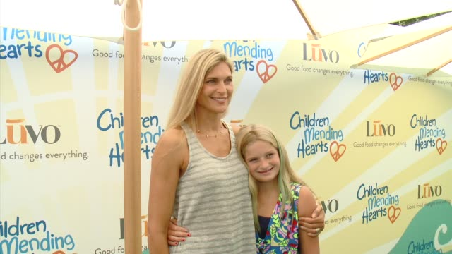 gabrielle reece at children mending hearts 6th annual fundraiser empathy rocks a spring into summer bash in los angeles ca - gabrielle reece stock videos and b-roll footage