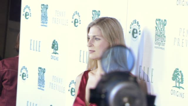 gabrielle reece at the elle green event at boulevard 3 in los angeles california on april 5 2007 - gabrielle reece stock videos and b-roll footage