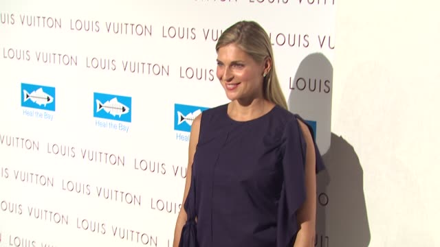gabrielle reece at the louis vuitton heal the bay celebrate louis vuitton's new location at santa monica ca - gabrielle reece stock videos and b-roll footage