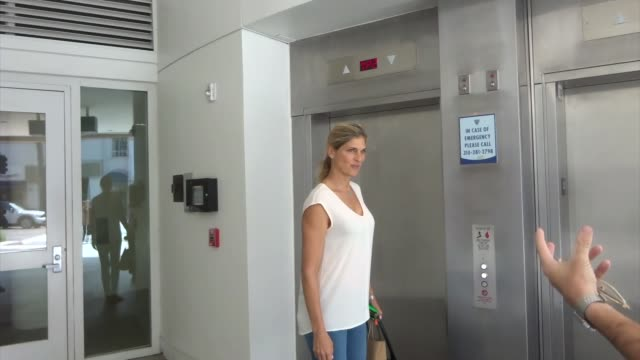 gabrielle reece goes shopping in beverly hills on april 02 2019 at celebrity sightings in los angeles - gabrielle reece stock videos and b-roll footage