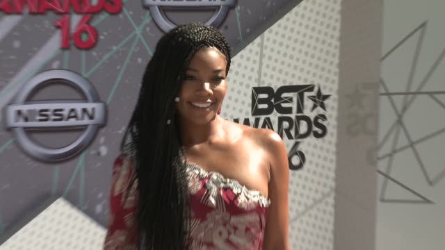 Gabrielle Union at 2016 BET Awards in Los Angeles CA