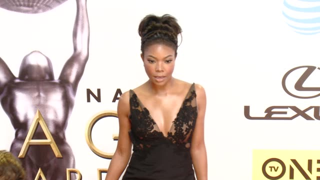 Gabrielle Union at 47th NAACP Image Awards in Los Angeles CA