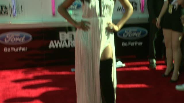gabrielle union at the 2014 bet awards on june 29 2014 in los angeles california - bet awards stock videos and b-roll footage