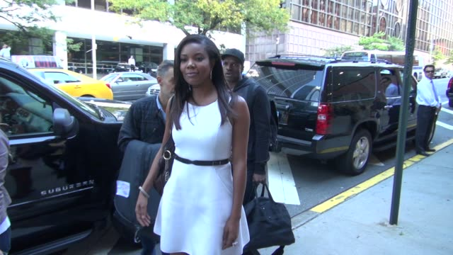 Gabrielle Union at the 'Anderson Live' studio in New York NY on 09/25/12