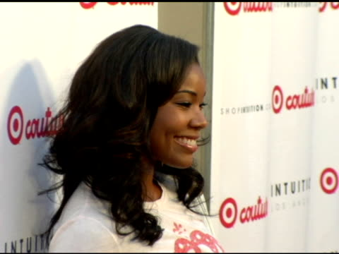 gabrielle union at the launch the target couture collection by intuition founder jaye hersh at social hollywood in hollywood california on may 11 2006 - jaye hersh stock videos and b-roll footage