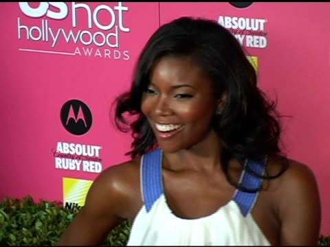 gabrielle union at the us weekly hot hollywood awards at republic restaurant and lounge in los angeles, california on april 26, 2006. - us weekly stock videos & royalty-free footage