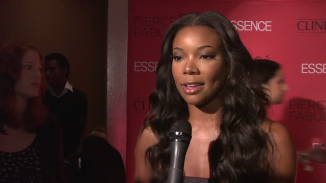 Gabrielle Union talks about being a part of the fierce and fabulous event and how essence has been great for her career and to other women of color...
