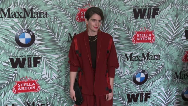 gaby hoffmann at 10th annual women in film pre-oscar cocktail party presented by max mara and bmw at nightingale plaza on february 24, 2017 in los... - nightingale stock videos & royalty-free footage
