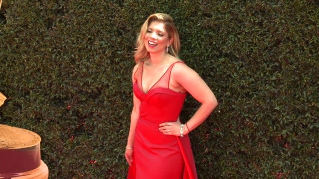Gaby Natale at the 2018 Daytime Emmy Awards at Pasadena Civic Auditorium on April 29 2018 in Pasadena California