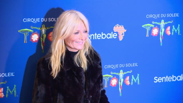 gaby roslin at cirque du soleil totem london premiere at royal albert hall on january 16, 2019 in london, england. - gaby roslin stock videos & royalty-free footage