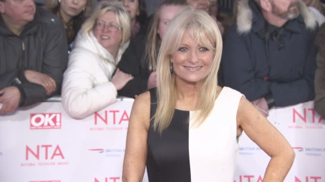gaby roslin at national television awards at the o2 arena on january 23, 2018 in london, england. - gaby roslin stock videos & royalty-free footage