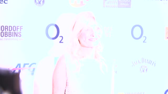 gaby roslin at nordoff robbins o2 silver clef awards at london hilton on july 04, 2014 in london, england. - gaby roslin stock videos & royalty-free footage