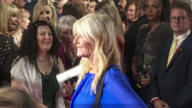gaby roslin at the daily mirror pride of britain awards, in partnership with tsb at the grosvenor house hotel on october 28, 2019 in london, england. - gaby roslin stock videos & royalty-free footage