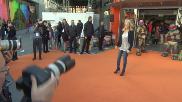 gaby roslin at the nickelodeon store opening at no 1 leicester square on may 29, 2015 in london, england. - gaby roslin stock videos & royalty-free footage
